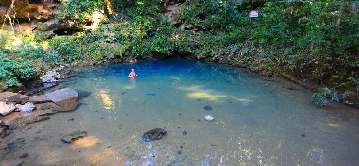 's Cave & Inland Blue Hole