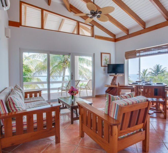 Placencia Belize 2BR Oceanfront Suites-3