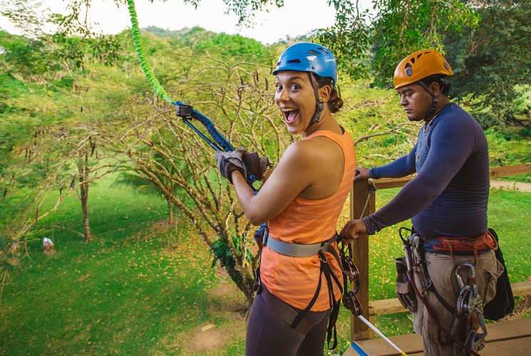 Belize Zipline from Laru Beya Belize Resort