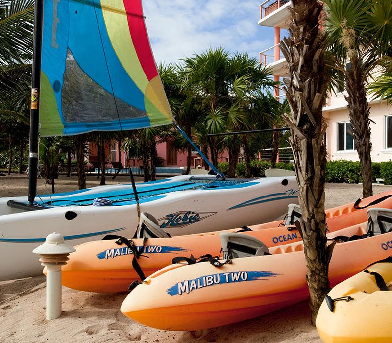 Placencia Belize resort amenities sports