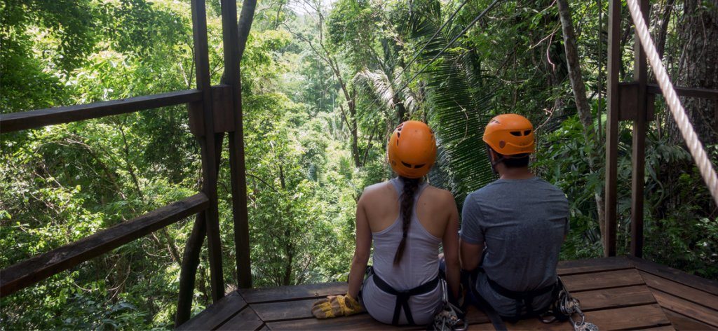 Belize Cave Tubing and Zip Lining Tours
