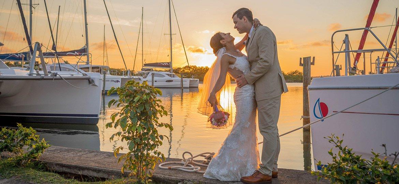 Belize weddings in the fall