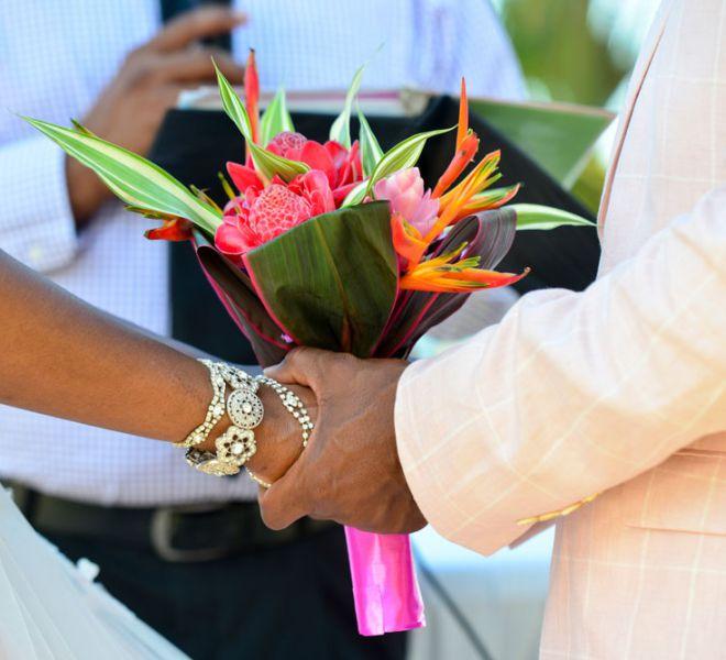 Belize Destination Wedding Guide - Beach Wedding Ceremony