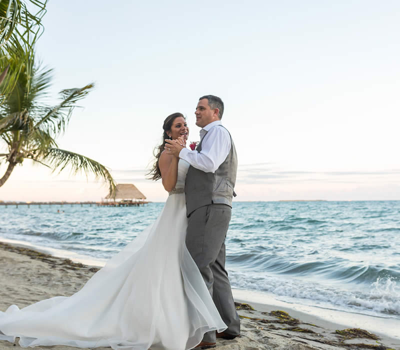 Belize All Inclusive Destination Weddings on the beach