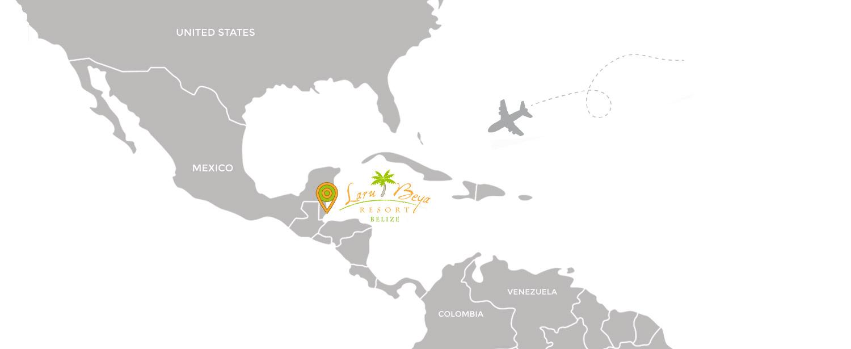 How to get to Laru Beya, Belize