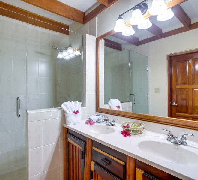 Placencia Belize 1BR Oceanfront Suites - bathroom