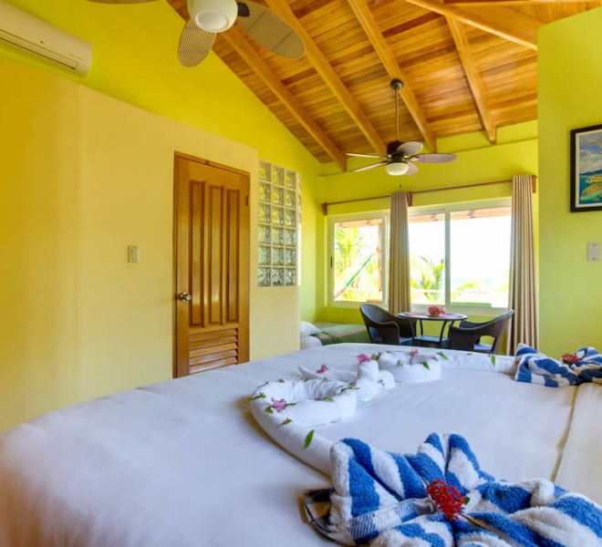 Placencia Belize 3BR Family Suites - Bedroom